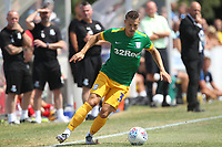 Preston North End's Billy Bodin<br /> <br /> Photographer Mick Walker/CameraSport<br /> <br /> Pre-Season Friendly -Bamber Bridge v Preston North End  - Saturday 7th July  2018 - Irongate Stadium,Bamber Bridge<br /> <br /> World Copyright &copy; 2018 CameraSport. All rights reserved. 43 Linden Ave. Countesthorpe. Leicester. England. LE8 5PG - Tel: +44 (0) 116 277 4147 - admin@camerasport.com - www.camerasport.com