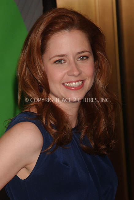 WWW.ACEPIXS.COM . . . . . ....May 14 2007, New York City....Actor Jenna Fischer attends the NBC Upfronts at Radio City Music Hall.....Please byline: KRISTIN CALLAHAN - ACEPIXS.COM.. . . . . . ..Ace Pictures, Inc:  ..(646) 769 0430..e-mail: info@acepixs.com..web: http://www.acepixs.com