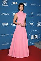Gemma Arterton at the British Independent Film Awards (BIFA) 2018, Old Billingsgate Market, Lower Thames Street, London, England, UK, on Sunday 02 December 2018.<br /> CAP/CAN<br /> &copy;CAN/Capital Pictures