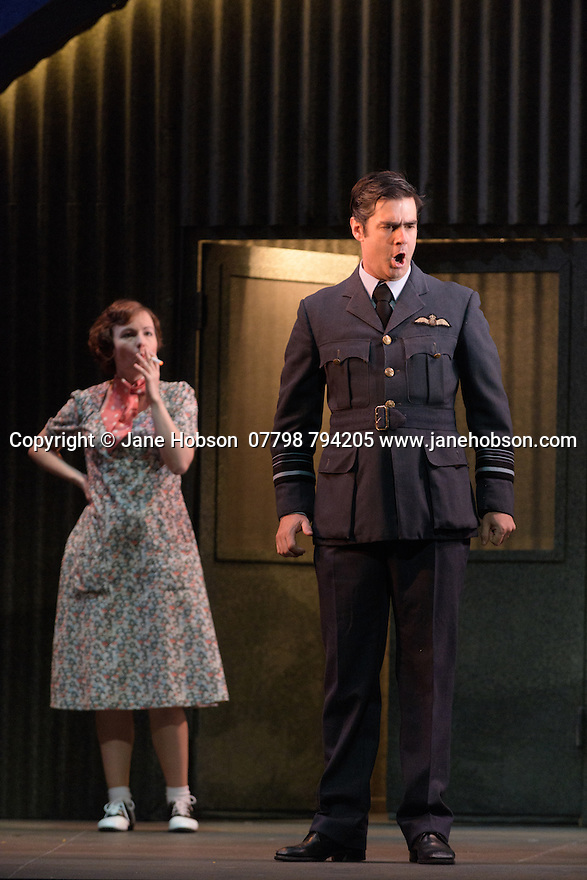 English Touring Opera presents XERXES, by George Frideric Handel, at the Hackney Empire, prior to setting off on a UK tour. Picture shows: Galina Averina (Atalanta), Clint van der Linde (Arsamenes)