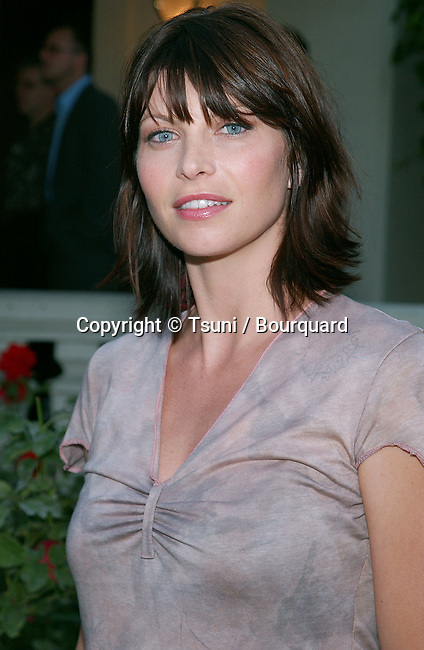 "Scarlett Chorvat arriving at the party for the ""2002 ABC Summer Press Tour All-Star"" at the Tournament House in Pasadena, Los Angeles. July 18, 2002."