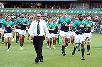 PRETORIA, SOUTH AFRICA - OCTOBER 06: Swys de Bruin (consultant) and Emirates Lions head coach during the Rugby Championship match between South Africa Springboks and New Zealand All Blacks at Loftus Versfeld Stadium. on October 6, 2018 in Pretoria, South Africa.  Photo: Steve Haag / stevehaagsports.com