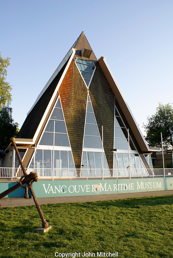 Vancouver Maritime Museum building, Vancouver, British Columbia, Canada