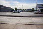 PHOENIX, ARIZONA, USA, 10/2016<br /> A plastic bag is blown by the wind on the street in central Phoenix. <br /> (Photo by Piotr Malecki / Napo Images)<br /> <br /> PHOENIX, ARIZONA, USA, 10/2016<br /> Torba plastikowa pchana przez wiatr na ulicy w centrum miasta.<br /> Fot: Piotr Malecki / Napo Images<br /> <br /> <br />  ###ZDJECIE MOZE BYC UZYTE W KONTEKSCIE NIEOBRAZAJACYM OSOB PRZEDSTAWIONYCH NA FOTOGRAFII###