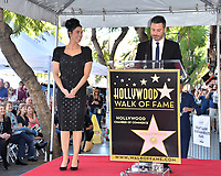 LOS ANGELES, CA. November 09, 2018: Sarah Silverman &amp; Jimmy Kimmel at the Hollywood Walk of Fame Star Ceremony honoring comedian Sarah Silverman.<br /> Pictures: Paul Smith/Featureflash