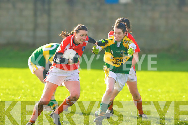 Kerry Ladies v  Armagh at Strand Road on Sunday   Copyright Kerry's Eye 2008