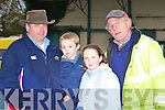 Tommy Griffin, David Griffin, Niamh O'Sullivan and Jack Ahern Currow enjoying the hunt in Currow on Sunday   Copyright Kerry's Eye 2008
