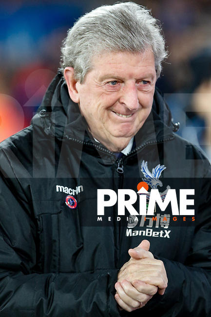 Crystal Palace Manager Roy Hodgson ahead of the Premier League match between Crystal Palace and Watford at Selhurst Park, London, England on 13 December 2017. Photo by Carlton Myrie / PRiME Media Images.