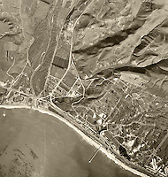 historical aerial photograph Capistrano Beach, Orange County, California, 1946