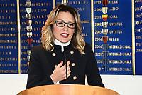 Valentina Battistini<br /> Milano 3-12-2018Convegno Quarta Categoria Il calcio e' di tutti<br /> Daniele Buffa / Image Sport / Insidefoto