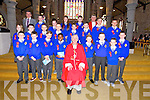 Mr Costello Sixth class students from CBS primary were confirmed by Bishop Ray Browne at St. John's Church Tralee on Friday. Pictured Front Row: l-r Callum Donovan, Graham Kennelly, Jakub Kuziola, Ike Ogunmwonyi, Bishop Ray Browne, Michael McCarthy, Craig O Brien, Patrick Keane, Christopher Martin, Middle Row: l-r Sinead Collins, Christopher Nolan, Wiktor Rybynski, Igor Rybynski, Patrick O Brien, Joe Bastible, Liam Nolan, Wiktor Pierog Back Row:Pat Costello(teacher), Joshua Fitzgerald, Nikita O Brien, Browyn Foley, Nathan Rowan, Fr. Sean Hanafin