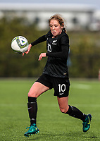 Hannah Blake. OFC U-19 Women's Championship 2017, New Zealand v Fiji, Ngahue Reserve Auckland, Tuesday 11th July 2017. Photo: Simon Watts / www.bwmedia.co.nz