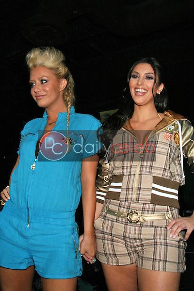 Aubrey O'Day and Kim Kardashian<br />at Celebrity Catwalk for Charity. The Highlands Nightclub, Hollywood, CA. 08-16-07<br />Dave Edwards/DailyCeleb.com 818-249-4998