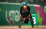 Lima, Peru -  25/August/2019 -  Benjamin Brown competes in the men's 800m T53 at the Parapan Am Games in Lima, Peru. Photo: Dave Holland/Canadian Paralympic Committee.