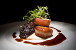 The Seared Scallops with Oxtail at Desmond's on June 14, 2011 in New York City.  (Photo by Michael Nagle)