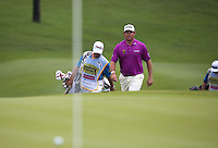 Lee Westwood (ENG) approaching the 8th during the Final Round of the 2014 Maybank Malaysian Open at the Kuala Lumpur Golf & Country Club, Kuala Lumpur, Malaysia. Picture:  David Lloyd / www.golffile.ie