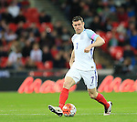 England's James Milner in action during the International friendly match at Wembley.  Photo credit should read: David Klein/Sportimage