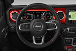 Car pictures of steering wheel view of a 2019 JEEP Wrangler Rubicon 5 Door SUV Steering Wheel