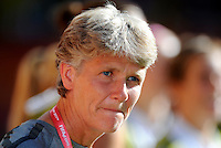 US-Coach Pia Sundhage during the FIFA Women's World Cup at the FIFA Stadium in Dresden, Germany on June 28th, 2011.