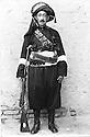 Iraq 1920?.Suleimania: Sheijh Kader Barzinji,brother and minister of Defence of sheikh Mahmoud   Irak 1920? .Souleimania: Sheikh Kader Barzinji,frere et generalissime de l'armee de Sheikh Mahmoud