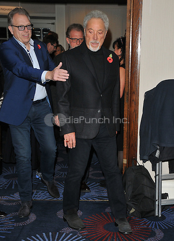 Sir Tom Jones at the Music Industry Trusts Awards 2016, Grosvenor House Hotel, Park Lane, London, England, UK, on Monday 07 November 2016. <br /> CAP/CAN<br /> &copy;CAN/Capital Pictures /MediaPunch ***NORTH AND SOUTH AMERICAS ONLY***
