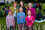 Open Air Cinema at the Killarney Gardens last Tuesday evening. Pictured are front l-r Rebecca Murphy, Aoibha O'Sullivan and Kayleigh O'Sullivan, back l-r Emer Kavanagh, Ailbhe Murphy and Mairead O'Sullivan all from Kilcummin.