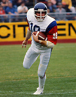 Dickie Harris Montreal Alouettes. Photo Ted Grant