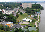 Overview of the Jazz in the Valley Festival, in Waryas Park in Poughkeepsie, NY, on Sunday, August 21, 2016. Photo by Jim Peppler. Copyright Jim Peppler 2016 all rights reserved.