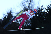 12th January 2018, Val di Fiemme, Fiemme Valley, Italy; FIS Nordic Combined World Cup, Mens Gundersen; Terence Weber (GER)