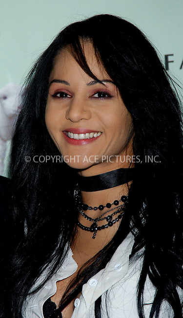 WWW.ACEPIXS.COM . . . . . ....NEW YORK, MAY 20, 2006....Persia White at the Farm Sanctuary's 20th Anniversary Gala For Farm Animals... ....Please byline: KRISTIN CALLAHAN - ACEPIXS.COM.. . . . . . ..Ace Pictures, Inc:  ..(212) 243-8787 or (646) 679 0430..e-mail: picturedesk@acepixs.com..web: http://www.acepixs.com