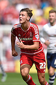 09/08/2015 Sky Bet League Championship Preston North End v Middlesbrough <br /> Dael Fry, Middlesbrough FC