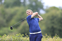 Stephen Walsh (Portmarnock) during the first round at the Mullingar Scratch Trophy, the last event in the Bridgestone order of merit Mullingar Golf Club, Mullingar, West Meath, Ireland. 10/08/2019.<br /> Picture Fran Caffrey / Golffile.ie<br /> <br /> All photo usage must carry mandatory copyright credit (© Golffile | Fran Caffrey)
