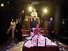 Stephen Sondheim's <br /> Road Show<br /> at the Menier Chocolate Factory, London, Great Britain <br /> press photocall <br /> 5th July 2011 <br /> <br /> European Premier<br /> <br /> <br /> David Bedella (as Wilson Mizner)<br /> &amp; Company <br /> Photograph by Elliott Franks