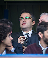 Watford Chairman & CEO Scott Duxbury during the Premier League match between Chelsea and Watford at Stamford Bridge, London, England on 21 October 2017. Photo by Andy Rowland.