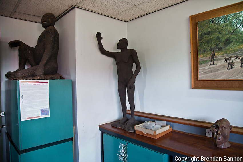 Scene from the Nairobi National Musuem.