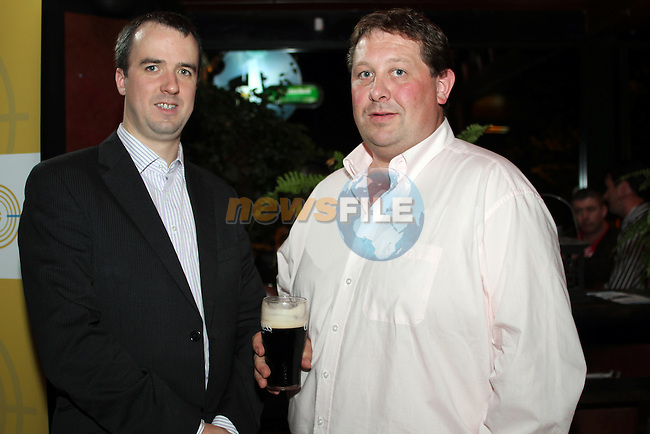 Aogan Dunne, City North Hotel and Alan Delany at the Launch of the White Collar Boxing Event...Picture Jenny Matthews/Newsfile.ie