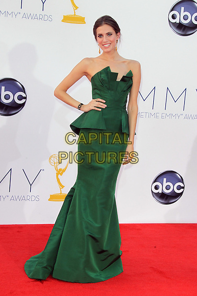 LOS ANGELES, CA - SEPTEMBER 23: Allison Williams at the 64th Primetime Emmy Awards at Nokia Theatre L.A. Live on September 23, 2012 in Los Angeles, California.   &copy;&dagger;mpi27/MediaPunch Inc.<br /> CAP/MPI27<br /> &copy;/MPI27/Capital Pictures