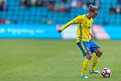 June 1th 2017, Ullevaal Stadion, Oslo, Norway; International Football Friendly 2018 football, Norway versus Sweden;  Niklas Hult of Sweden in action