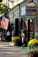 Cooperstown, New York, NY, Cooperstown Bat Company in downtown Cooperstown in the fall. Home of Baseball