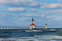 64795-02714 St. Joseph North Pier Lighthouses St. Joseph, MI