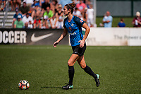 Kansas City, MO - Wednesday August 16, 2017: Yael Averbuch during a regular season National Women's Soccer League (NWSL) match between FC Kansas City and the Orlando Pride at Children's Mercy Victory Field.