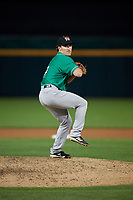 Norfolk Tides pitcher Zach Muckenhirn (7) during an International League game against the Buffalo Bisons on June 21, 2019 at Sahlen Field in Buffalo, New York.  Buffalo defeated Norfolk 1-0, the second game of a doubleheader.  (Mike Janes/Four Seam Images)