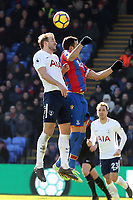 Luka Milivojevic of Crystal Palace and Harry Kane of Tottenham Hotspur during Crystal Palace vs Tottenham Hotspur, Premier League Football at Selhurst Park on 25th February 2018