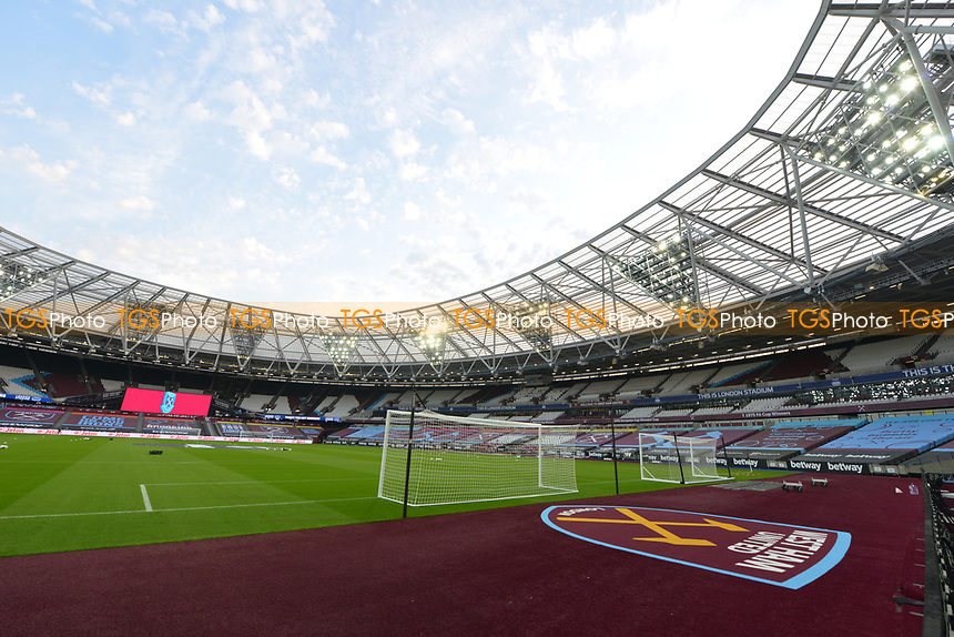 General view of the London Stadium during West Ham United vs Charlton Athletic, Caraboa Cup Football at The London Stadium on 15th September 2020