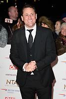 Nick Pickard<br /> arriving for the National TV Awards 2019 at the O2 Arena, London<br /> <br /> ©Ash Knotek  D3473  22/01/2019