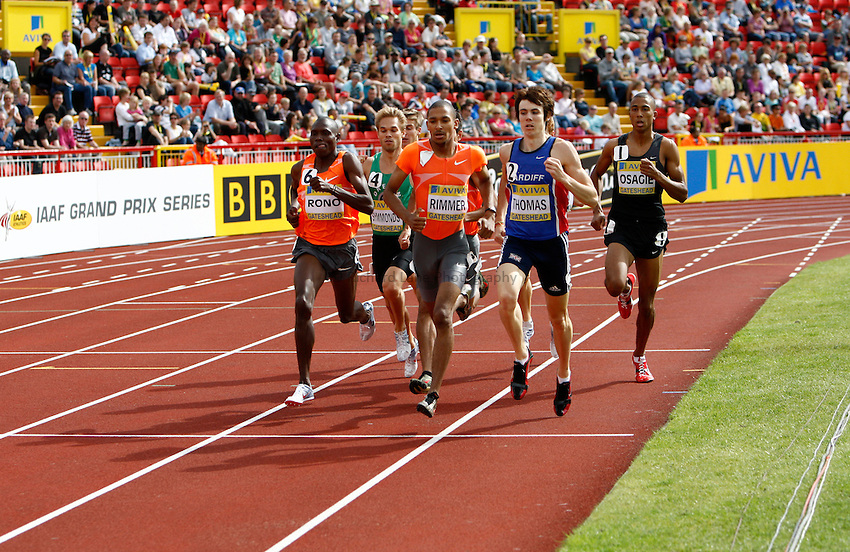 Photo: Richard Lane/Richard Lane Photography..Aviva British Grand Prix. 31/08/2009. Men's 800m.
