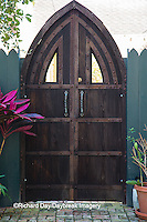 63412-01115 Brown gate in St Augustine, FL