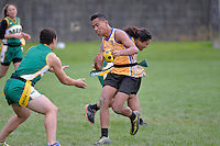 Action from the Ki o rahi Nationals at Te Whiti Park, Lower Hutt, New Zealand on Monday 28 April 2014.<br /> Photo by Masanori Udagawa. <br /> www.photowellington.photoshelter.com.