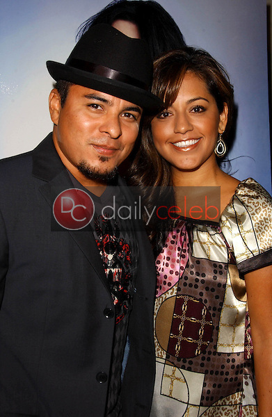 Jacob Vargas and wife Sylvia<br />at the party for Christa Campbell's appearance in Playboy Magazine. Mood, Hollywood, CA. 08-15-07<br />Dave Edwards/DailyCeleb.com 818-249-4998