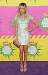 Ashley Tisdale arriving at the 2013 Nickelodeon Kid's Choice Awards, held at the USC Galen Center in Los Angeles, CA. on March 23, 2013.